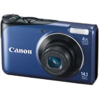 Canon Powershot A2200 14.1 MP Digital Camera with 4x Optical Zoom (Blue) Basic Facts Review Image