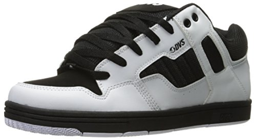 DVS Enduro 125 Black Leather Nubuck Blanco