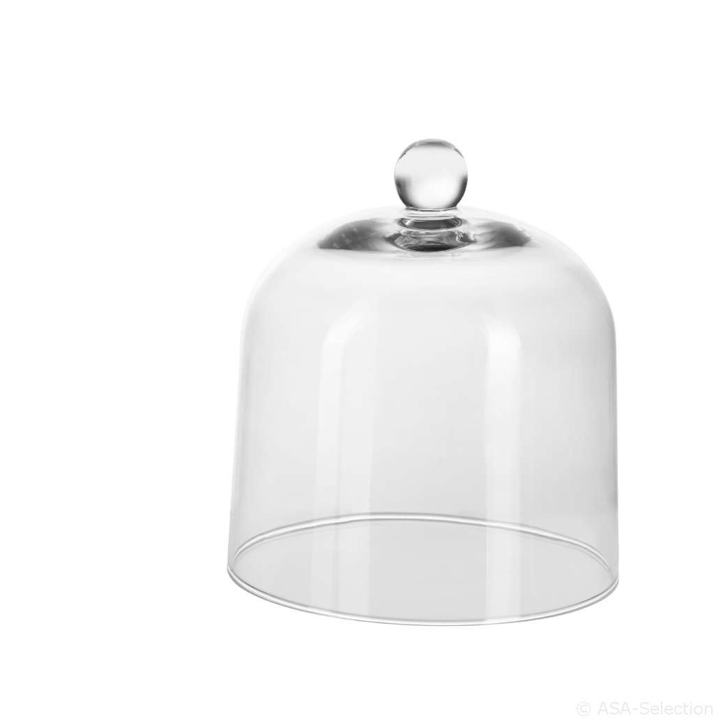ASA Grande Glass Bell, Glass Dome, Cheese Bell, Glass, Transparent, Ø 20.5 cm, 5321009