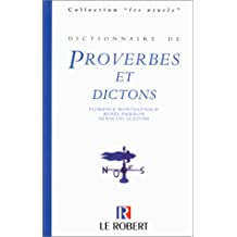 Dict.proverbes et dictons