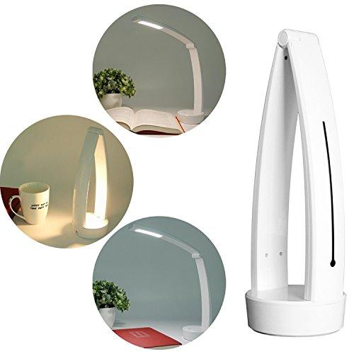 Led Desk Lamp Eye Caring Table Lamp Dimmable Reading Light