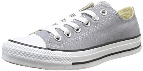 Converse Chuck Taylor All Star Ox - Zapatillas de Deporte de canvas Unisex Gris