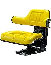 KlaraSeats John Deere sleepperszitje tractorstoel PVC geel KS 44/2H