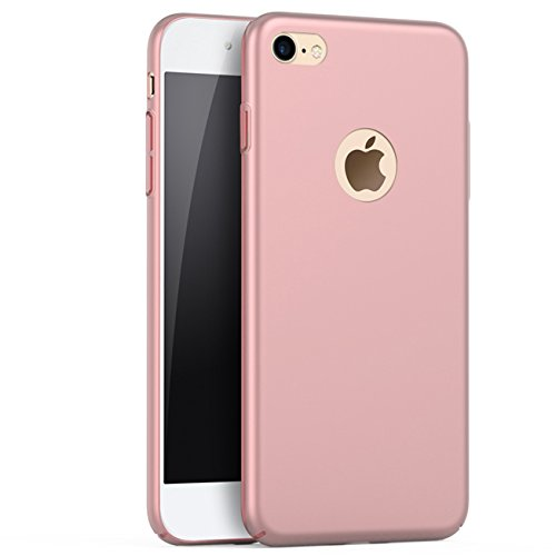 Price comparison product image iBarbe iPhone 6 Case, iPhone 6s Case, Shock Absorption Scratch Resistant Bumper slim Hard Plastic Cover Case for apple iPhone 6 (2014)/iPhone 6s (2015) - Rosegold