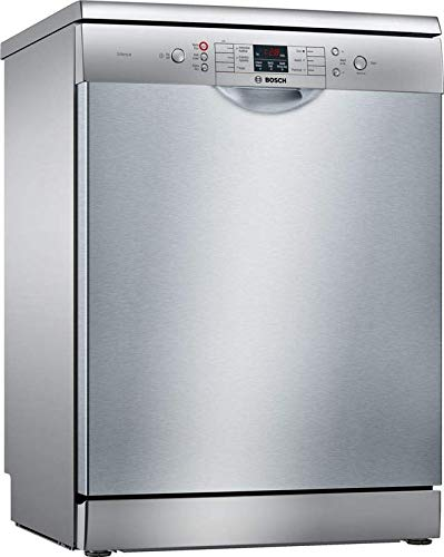 Bosch 12 Place Setting Dishwashers, Free Standing, Silver INOX, SMS66GI01I