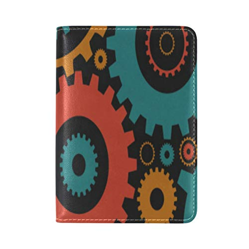Passport Cover Case Watch Home Accessories Fashion Ideas Leather&microfiber Multi Purpose Print Passport Holder Travel Wallet For Women And Men 5.51x3.94 In