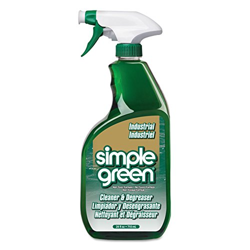 Simple Green 13012CT Industrial Cleaner & Degreaser, Concentrated, 24 oz Bottle (Case of ()