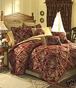 Amazon Com Croscill Imperial Empress 4 Pc King Comforter