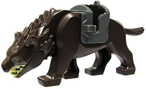 LEGO Hobbit LOOSE Mini Figure Dark Brown Warg