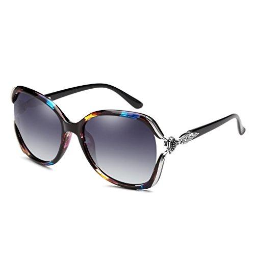 Sol color LIUXUEPING Polarizadas Sol Con Marco Gafas color Multi Multi De Color Elegantes De Gafas YqYwRU