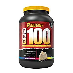 Mutant Pro – 100% Whey Protein Shake With No Hidden Ingredients, Made In Gourmet, Delicious Flavors – Birthday Cake Flavor