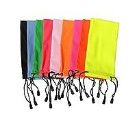 AYYgift 10 pcs Designer Sunglasses Case Box Pouch Cleaning Cloth (Sunglass pouch, Spouch#A-Clot)
