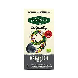Cafés Baqué - 10 Capsulas Compatibles Nespresso * Orgánico ...