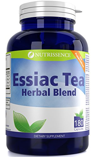 Essiac Tea Herbal Blend 180 Capsules - Nutrissence ()