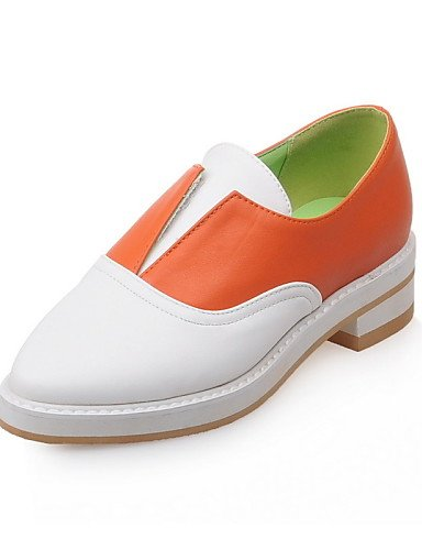 2 Orange 5 Uk2 4 5 us9 tacón Gyht 8 Bajo Cn42 us4 semicuero casual Eu41 10 Mujer 5 negro mocasines De Cn33 comfort Zapatos Zq Naranja Orange Eu34 5 Uk7 6qTwxUp1q