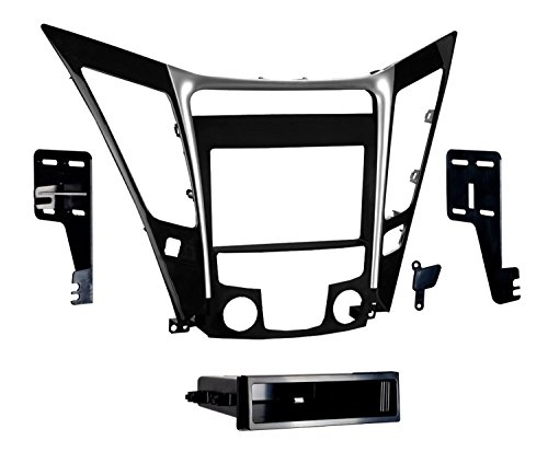 Metra 99-7342 Single/Double DIN Dash Installation Kit for 2011 Hyundai Sonata Vehicles