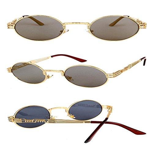 Hommes plein miroir Unisexe Round Square D Vintage Lunettes Sports Lunettes air soleil IMJONO Glasse de Lunette de femmes Soleil nbsp; de waqISa
