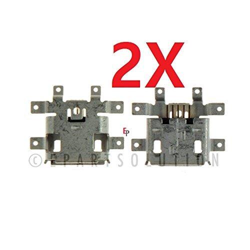 ePartSolution-2 X Motorola Droid RAZR M / Luge XT907 Verizon Charging Port Dock Connector USB Port Repair Part USA Seller -  for motorola, 500-543-308+4