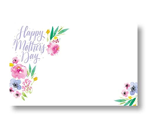 Floral Happy Mother's Day Enclosure Cards ()