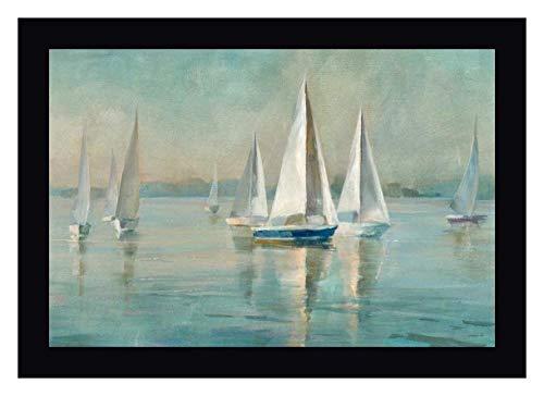 Sailboats at Sunrise by Danhui NAI - 11