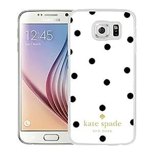 Unique Samsung Galaxy S6 Case Design with Kate Spade 6 White Skin