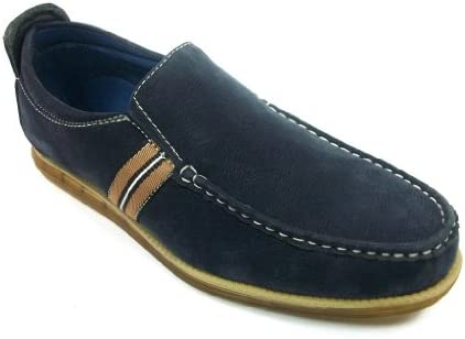 Mens Aldo Navy Slip On Casual Driving Loafer Shoes