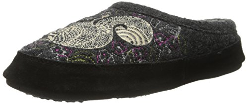 (Acorn Women's Forest Mule, Grey Squirrel Medium/6.5-7.5 M US)