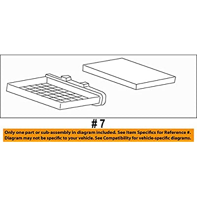 GM OEM-Cabin Air Filter 20958479: Automotive