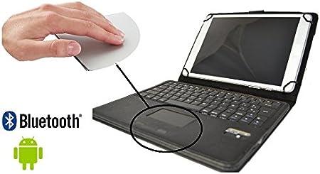 Theoutlettablet® Funda con teclado extraíble Bluetooth en ...