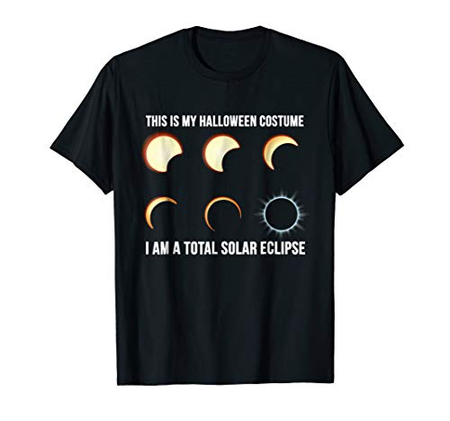 This is My Halloween Costume. I Am a Total Solar Eclipse. -