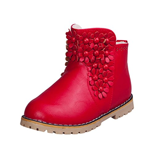 Price comparison product image Boots for Toddler Girls Fashion Winter Warm Kids Anti-slip Booties Shoes