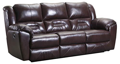 Super Ravenna Home Maplewood Reclining Sofa 92W Leather Dark Roast Dailytribune Chair Design For Home Dailytribuneorg