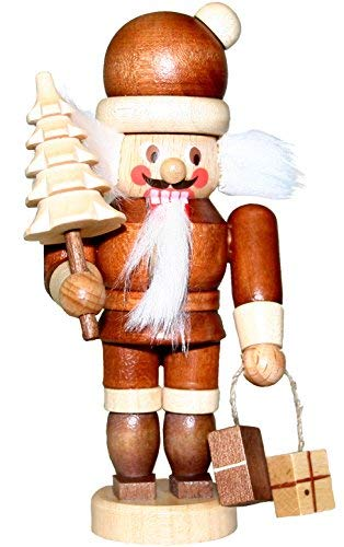 13-0503 - Christian Ulbricht Mini Nutcracker - Santa - 4''''H x 2.25''''W x 2''''D by Christian Ulbricht
