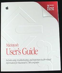 macintosh user s guide for macintosh lc 580 computers macintosh rh amazon com macbook user guide macintosh se user guide