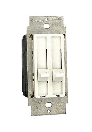 012-06630-00w Sureslide White Dual Quiet Fan Speed  Light Control - 06630 L02