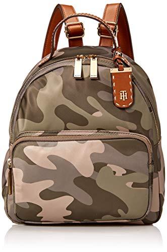 (Tommy Hilfiger Camo Backpack for Women Julia, Green)