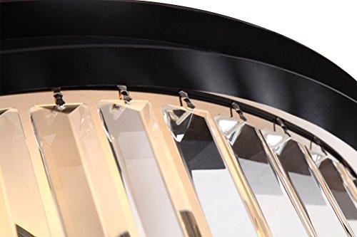 Lumos 12 Lights Luxury Modern Crystal Chandelier Pendant Ceiling Light for Dining Room, Living Room … (12 Lights) by Zgear (Image #4)