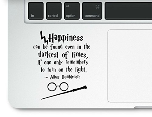 Motivational Happiness Printed Sticker Trackpad
