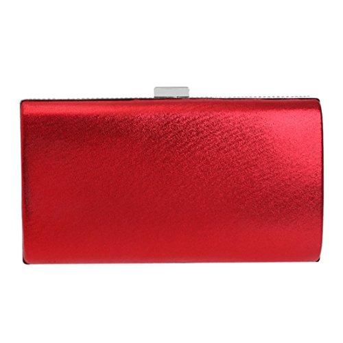 pour Multicolor Red Femme FUBULE Pochette 1 Ow7x5