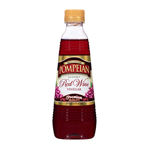 Pompeian Pompeian Red Wine Vinegar, 16 oz (Pack of 6)