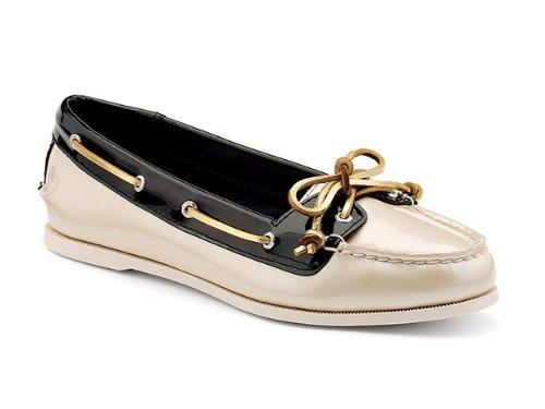 Women's Sperry Top-Sider, Audrey Slip-on Boat Shoe NUDE BLACK 11 M