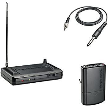 audio technica atr7100g vhf wireless guitar system t2 musical instruments. Black Bedroom Furniture Sets. Home Design Ideas