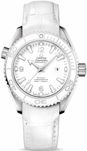 Omega Seamaster Planet Ocean Automatic White Dial Stainless Steel Mens Watch 232.33.38.20.04.001