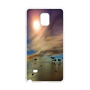 Samsung Galaxy Note 4 Cell Phone Case White_Game of Colors Landscape Tihyj