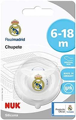 NUK Genius, Chupete del Real Madrid para Bebé de Silicona ...