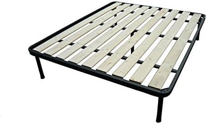 Bed Store - Somier ergonómico para cama de matrimonio reforzado con 5 apoyos