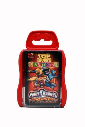 Top Trumps Juniors - Power Rangers Ninja Storm: Amazon.es ...