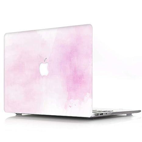 AQYLQ Funda Dura para MacBook Air 13 Pulgadas (A1369 / A1466), Ultra Delgado Carcasa Rígida Protector de Plástico Acabado Mate Cubierta, DC-6 Luz ...