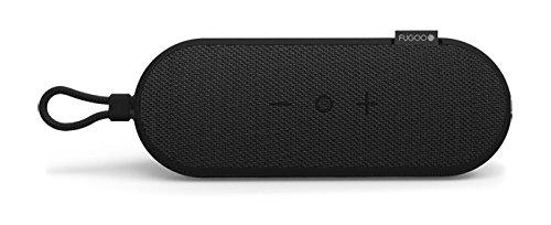 Fugoo GO 100% Waterproof Bluetooth Speaker - Portable, Wireless, Shock-Proof, Dust-Proof (Black)