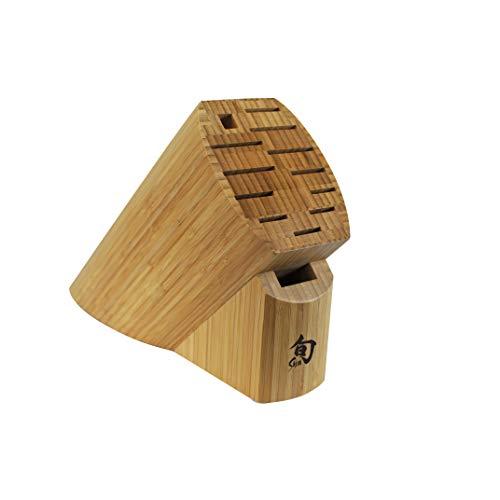 Shun DM0830 Bamboo 13-Slot Knife Block